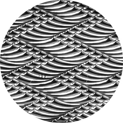 Bellevue Architectural present Olivari Guilloche: Chevron pattern