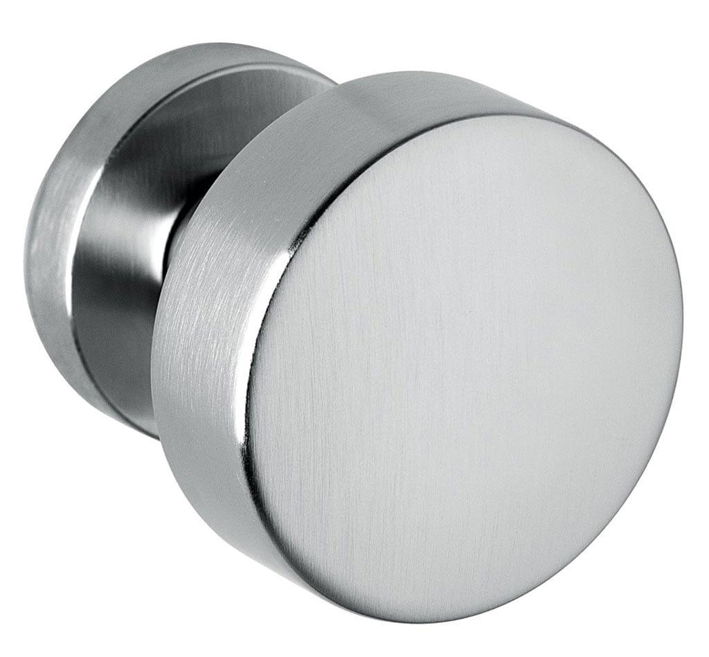 Bellevue Architectural - Door Hardware Finish: Satin Chrome