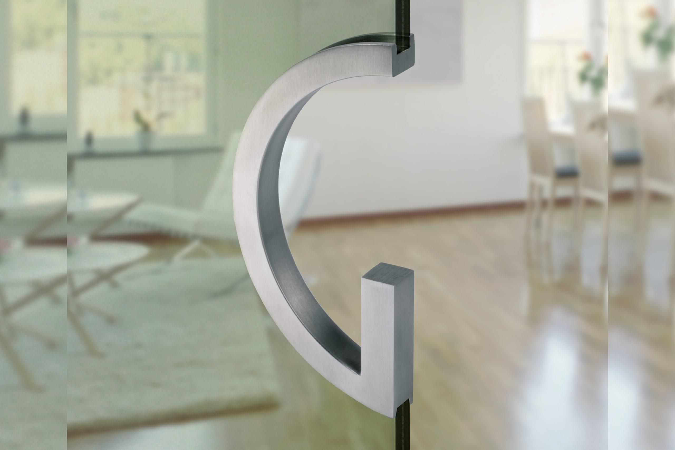 Glass End Door Pull