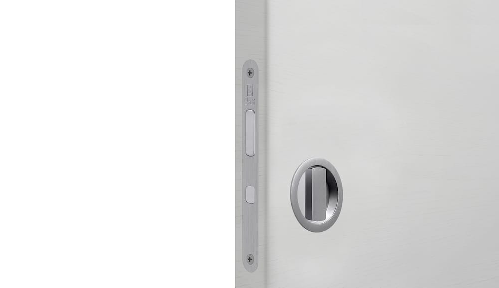 Sliding Door Privacy Flush Pull Kit by Bellevue Architectural