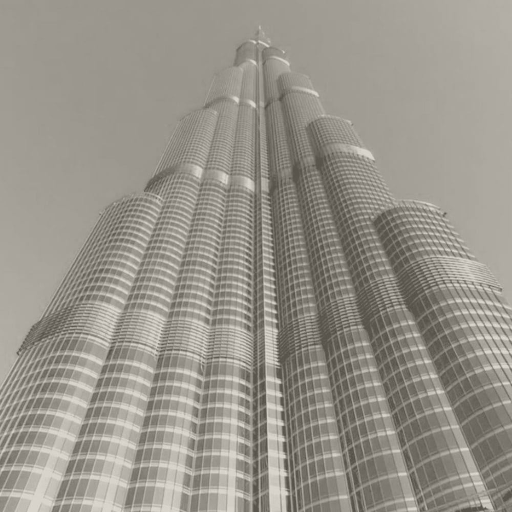 Project: Burj Khalifa in Dubai, UAE by Skidmore, Owings and Merrill