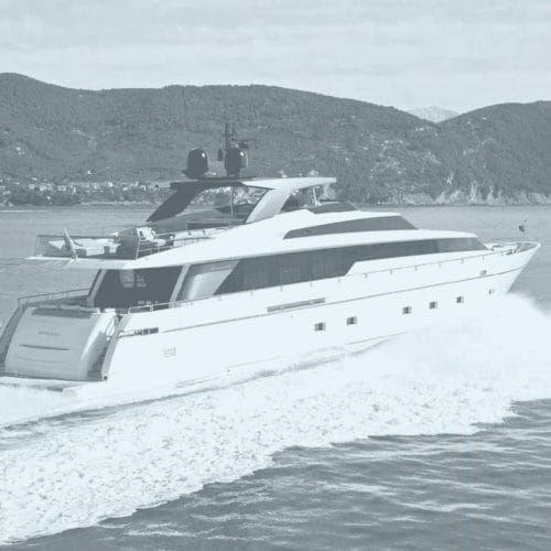 Project: Yacht SL104 for San Lorenzo designed by Dordoni Architects