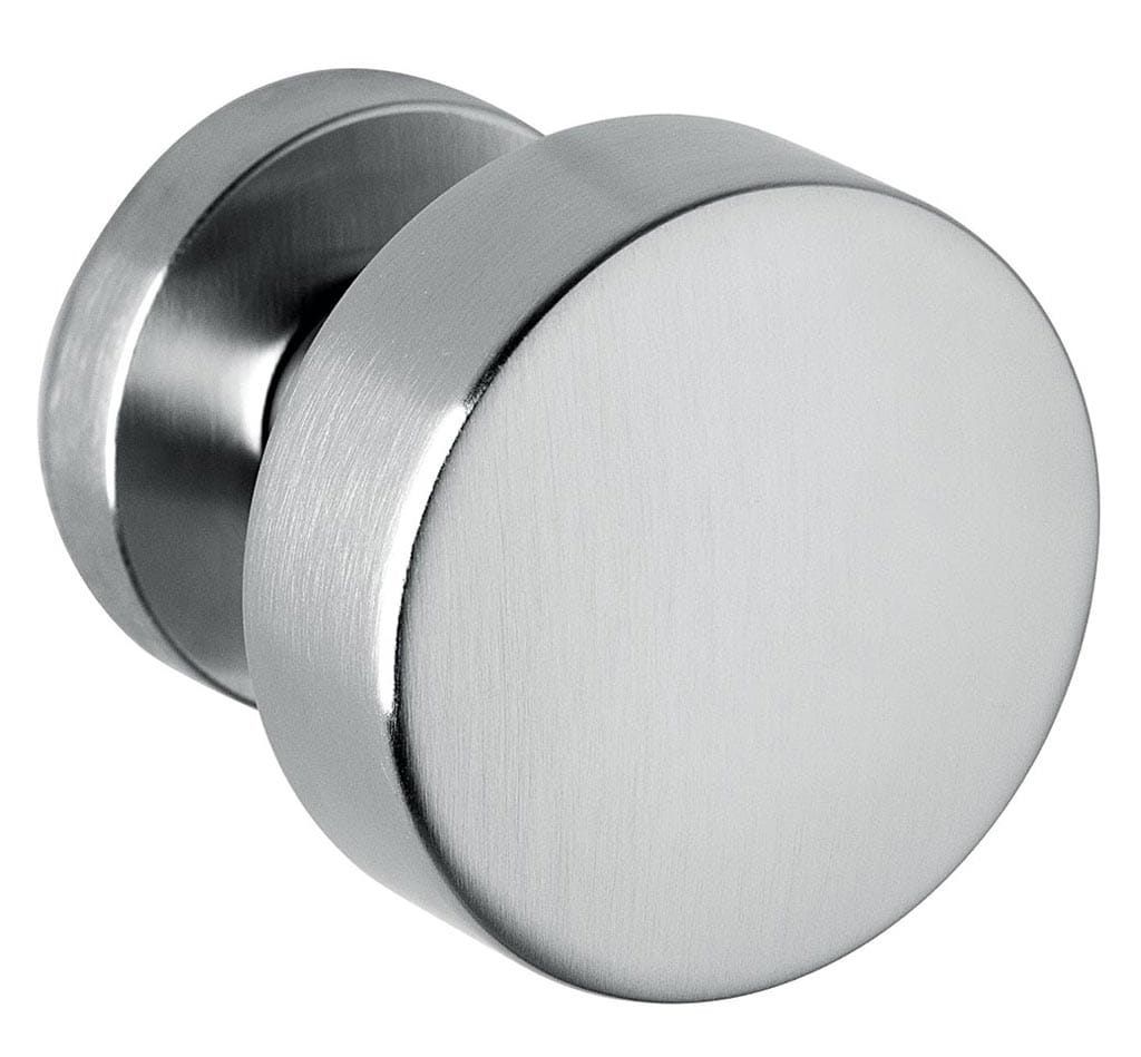 Bellevue Architectural - Door Hardware Finish: Satin Chrome