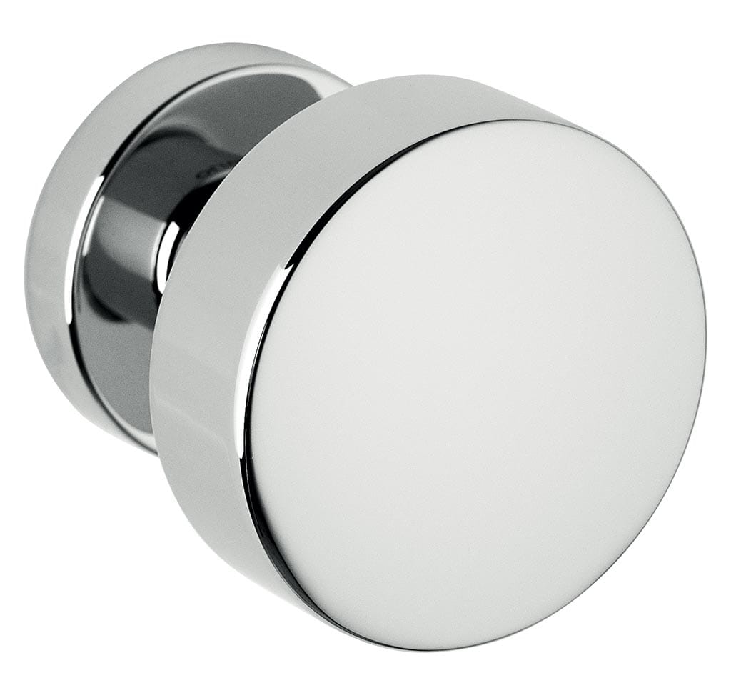 Bellevue Architectural - Door Hardware Finish: Bright Chrome