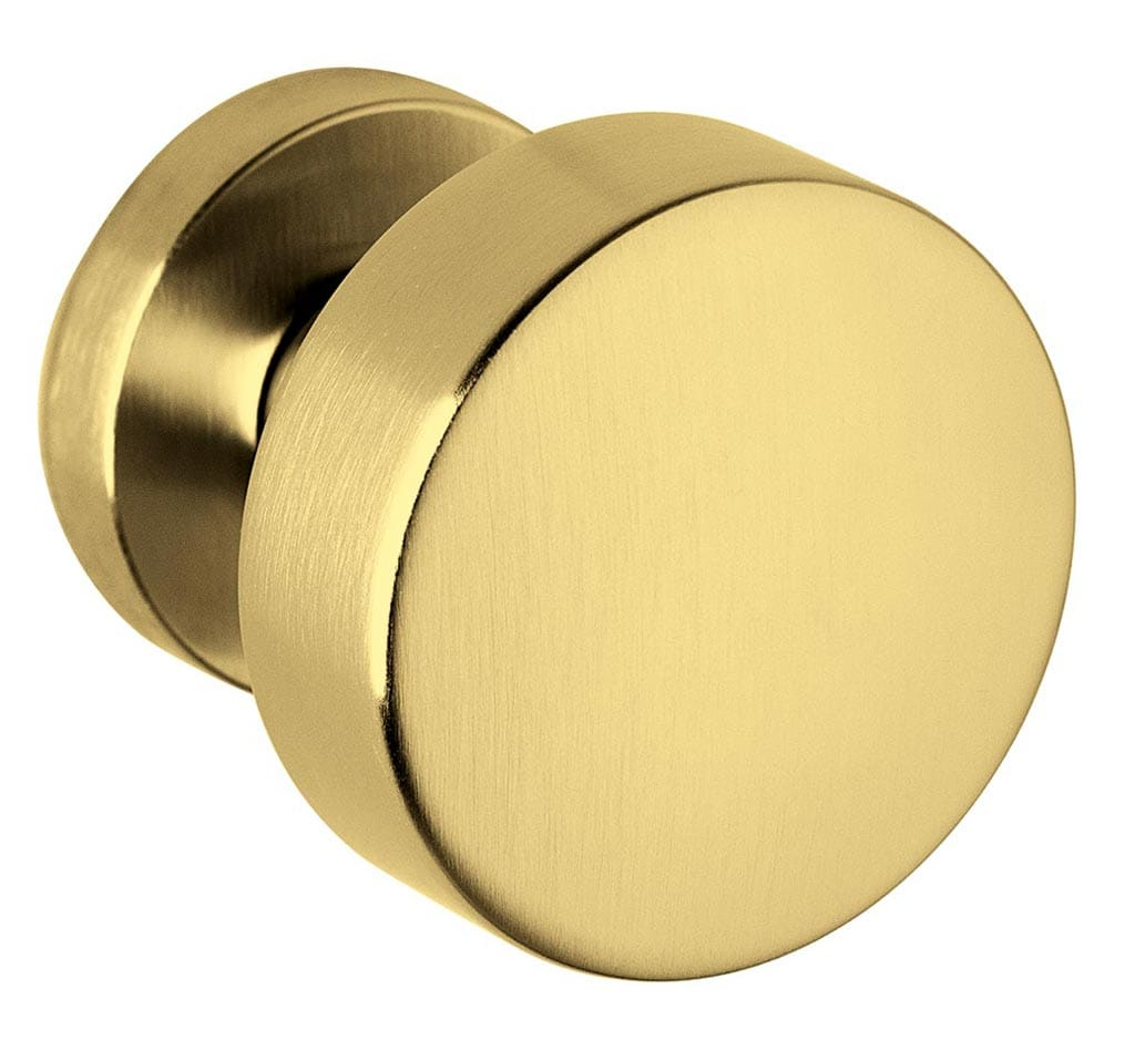 Bellevue Architectural - Door Hardware Finish: SuperGold Satin