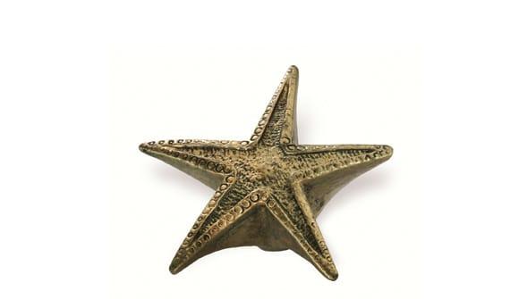 Siro SH082 - AB - Antique Brass - Starfish