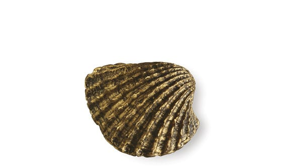 Siro SH083 - AB - Antique Brass - Seashell