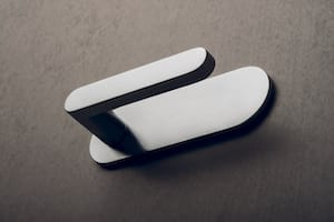 Door handle backplate covers